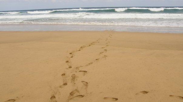 corsa verso il mare