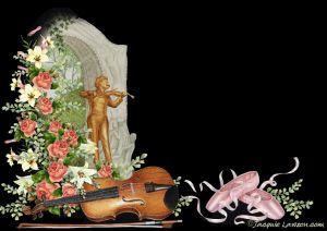 """Per ascoltare il """"Il Danubio Blu"""" cliccate sul violino"""