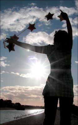 Per te infilerò le stelle....
